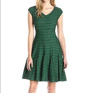 Taylor Dresses Empire Waist Fit Flare Dress